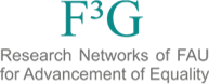 Logo of FAU F3G research network
