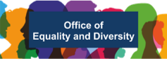 Logo of the office of Equality and diversity
